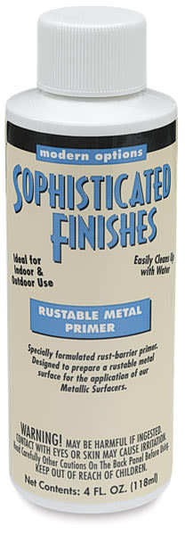 Primer and Sealer for Rustable Metals