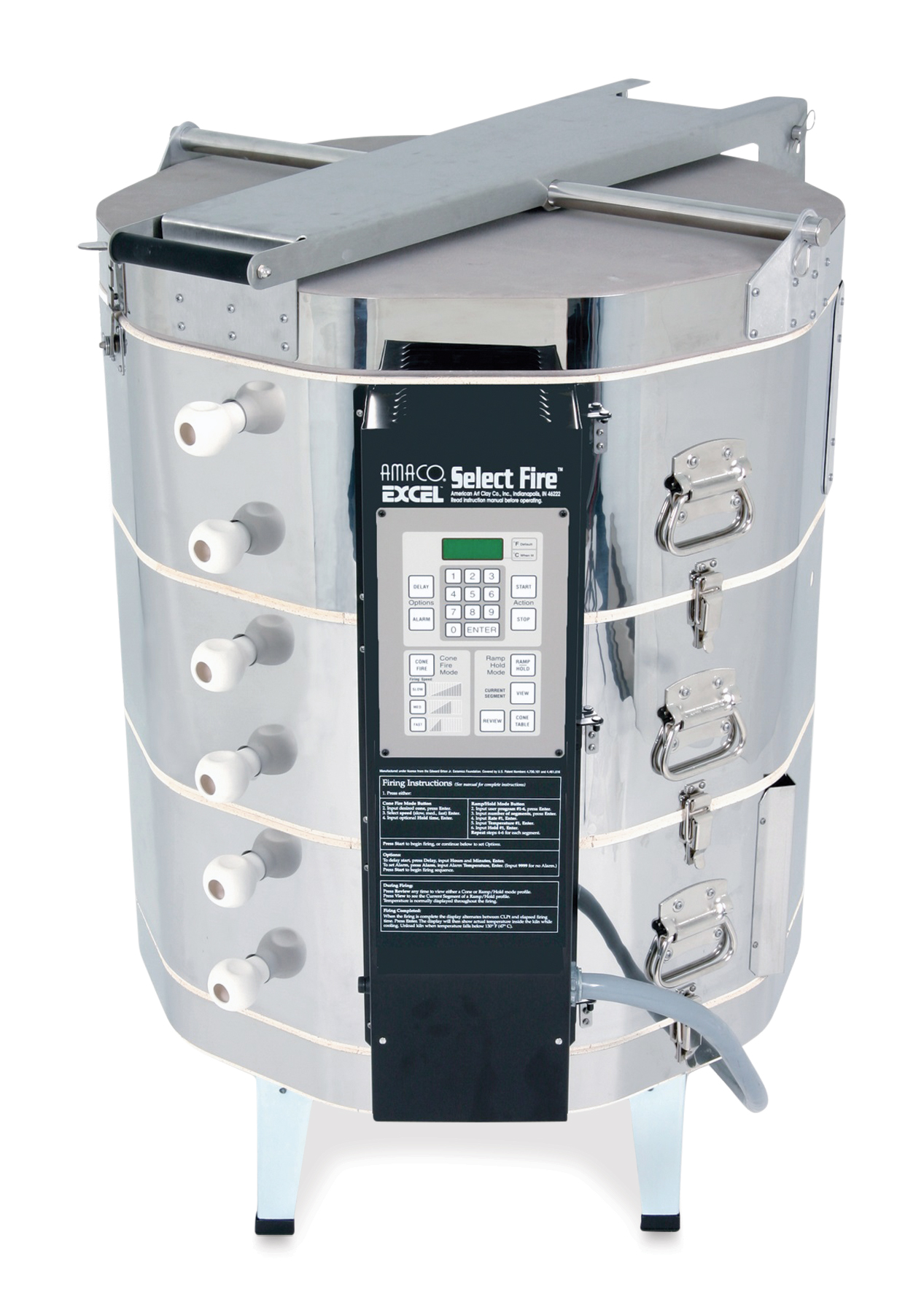 Amaco Excel Kiln with Select Fire with EZ-Lift - EX365SF, 240V, 1P, 48A