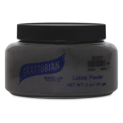 Graftobian Powder - Black Soot, 5 oz