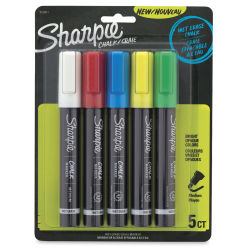 Sharpie Chalk Markers - Assorted Colors, Set of 5