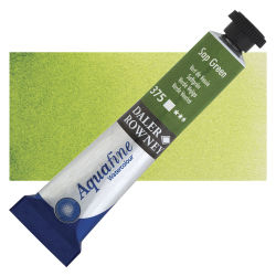 Daler-Rowney Aquafine Watercolors and Sets - Sap Green, 8 ml, Tube