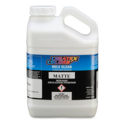 Createx Airbrush Clears - UVLS Top Coat, Matte, 1 Gallon, Bottle