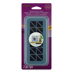 Premo! Sculpey Mosaic Cutters - Triangle, Pkg of 2