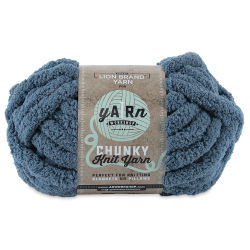 Lion Brand AR Workshop Chunky Knit Yarn - Chambray, 28 yds