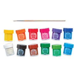 Ooly Lil' Poster Paint Pods - Set of 12