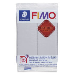 Staedtler Fimo Leather Effect Clay - Dove Grey, 2 oz