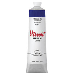 Utrecht Artists' Oil Paint - Ultramarine Blue, 150 ml tube