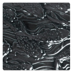 Amaco Liquid Gloss Glaze - Pint, Black Lustre, Opaque
