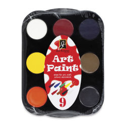 Richeson Art Paint Sets - Set of 9, Assorted Colors, .4 oz