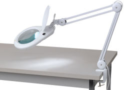 Magnifier Clamp Lamp