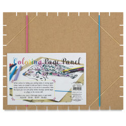 Coloring Page Panel Board - 10-1/2'' x 13''