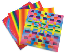 Rainbow Weaving Mats, Pkg of 72