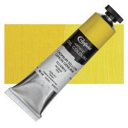 Cranfield Artists' Oils - Cadmium Yellow Lemon Genuine, 40 ml, Tube