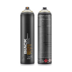 Montana Black Spray Paint - Goldchrome, 600 ml can