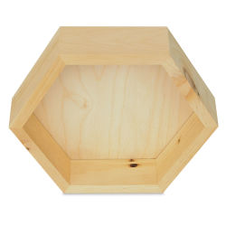 Walnut Hollow Pine Hexagon, Small