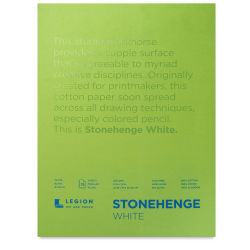 Legion Stonehenge Drawing Paper - 9'' x 12'', White, 15 Sheets