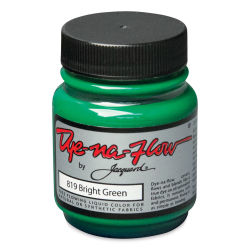 Jacquard Dye-Na-Flow Fabric Color - Bright Green, 2.25 oz jar