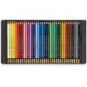 Koh-I-Noor Mondeluz Aquarelles Watercolor Pencil Set - Assorted Colors, Tin, Set of 36