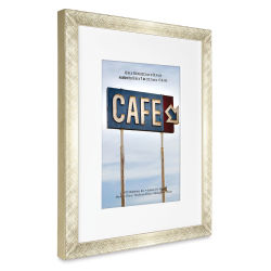 MC Brushed Aluminum Frame - Gold, 8'' x 10''