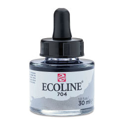 Ecoline Liquid Watercolor with Dropper - Gray, 30 ml jar