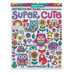 Notebook Doodles Coloring & Activity Book-Super Cute