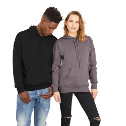 Bella + Canvas Unisex Sponge Fleece Drop Shoulder Sweatshirt - Black, Small