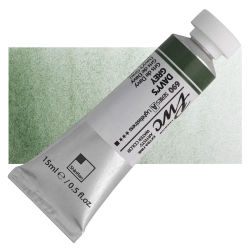PWC Extra Fine Professional Watercolor - Davy's Grey, 15 ml, Swatch with Tube