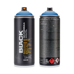 Montana Black Spray Paint - Knock Out Blue, 400 ml can