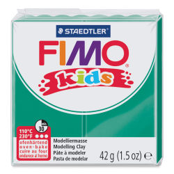 Staedtler Fimo Kids Polymer Clay - Green, 1.5 oz