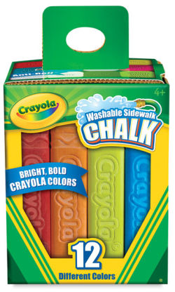 Sidewalk Chalk, Set of 12