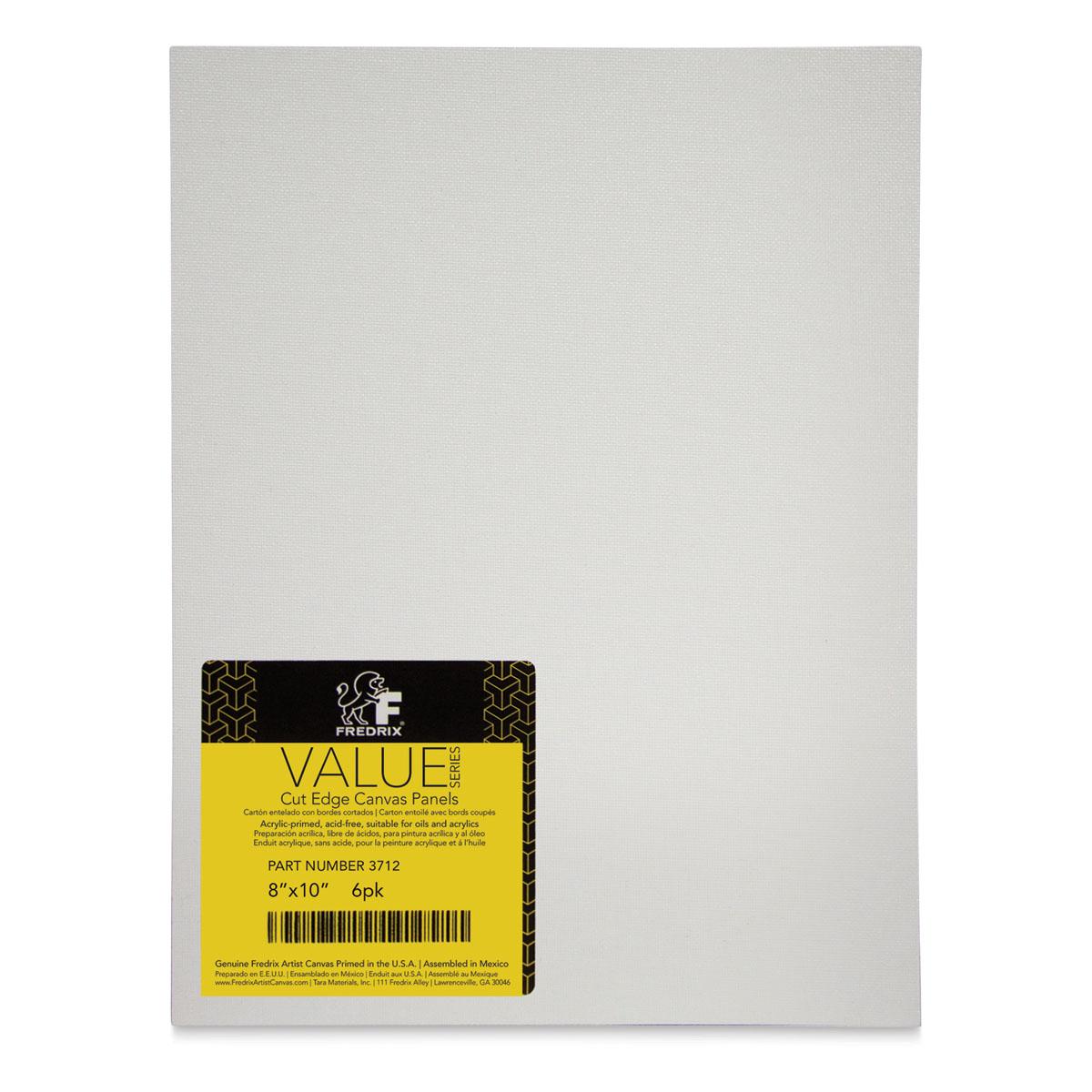 White Set of 180 Fredrix Mini Cut Edge Panels