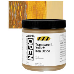 Transparent Yellow Iron Oxide