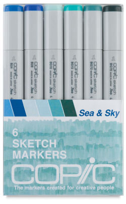 Sea & Sky Set of 6