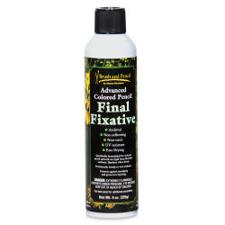 Brush and Pencil Advanced Colored Pencil Fixative - Final Fixative, 9 oz