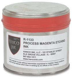 Hanco Oil Based Etching Ink - 1 lb, Transparent Base