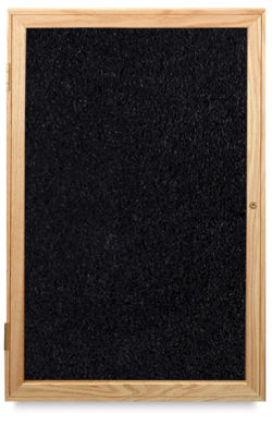 Oak Frame Tackboard, 1 Door