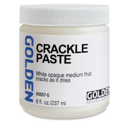 Golden Crackle Paste - 8 oz jar