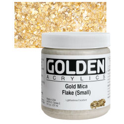 Gold Mica Flake (Small)