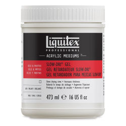 Liquitex Medium - Slow-Dri Gel, 16 oz jar