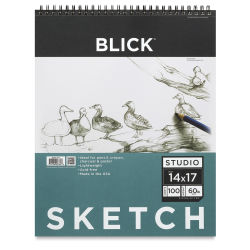 Blick Studio Sketch Pad - 14'' x 17'', 100 Sheets