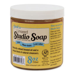 Richeson Jack's Linseed Studio Soap - 8 oz jar