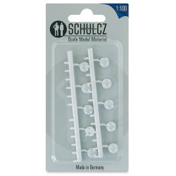 "Schulcz Scale Model Furniture - Round Tables, Pkg of 10, 1:100, 1/8"" (front of package)"
