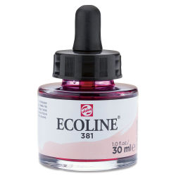Ecoline Liquid Watercolor with Dropper - Pastel Red, 30 ml jar