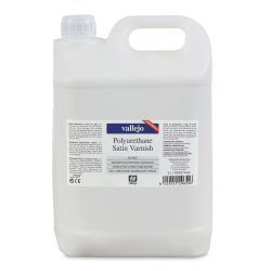 Vallejo Polyurethane Varnish - Satin, 5 Liter