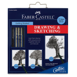 Faber-Castell Creative Studio Getting Started Drawing & Sketching Set