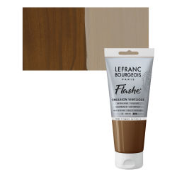 Lefranc & Bourgeois Flashe Vinyl Paint - Raw Umber, 80 ml jar