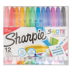 Sharpie S-Note Creative Markers - Set of 12