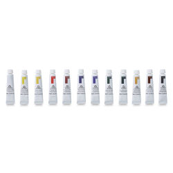 Reeves Oil Colors - Intro to Art, Set of 12, 10 ml tubes