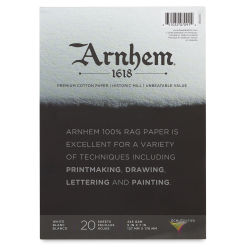 Arnhem 1618 Paper Pad by Speedball - 5'' x 7'', 20 Sheets