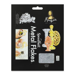Mona Lisa Metal Leaf Flakes - Silver Metal Flake
